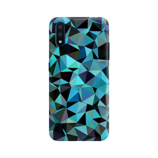 Azul Poligonal