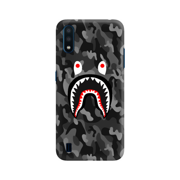 Bape Shark Camo Negro