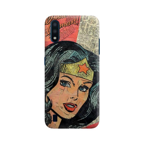 Mujer Maravilla Comic Collage